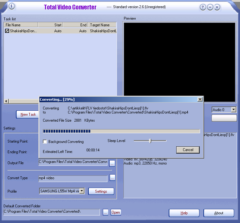 Total video converter v3.10 with serial